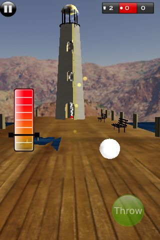 Screenshot 3D Pong Tricks