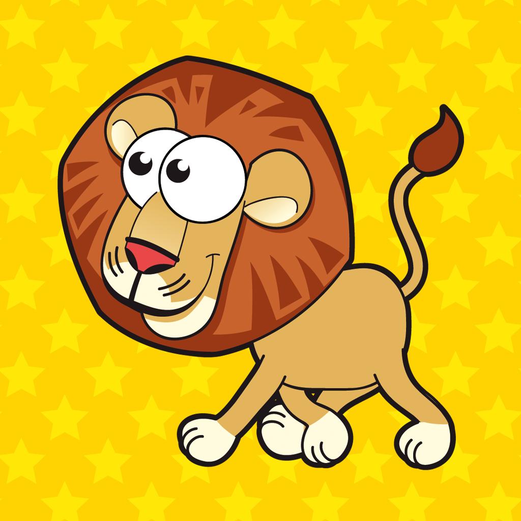 Король джунглей - лев на охоте